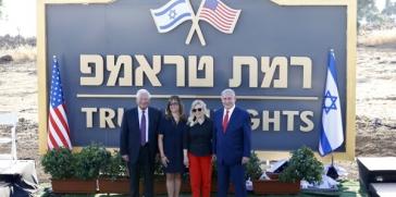 نتنياهو يطلق اسم ترامب على مستوطنة إسرائيلية في مرتفعات الجولان المحتلة