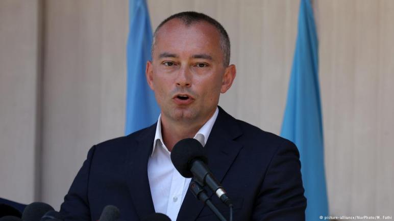 الفلسطينيون يقطعون علاقتهم مع مالدينوف المنسق الخاص للأمم المتحدة لعملية السلام