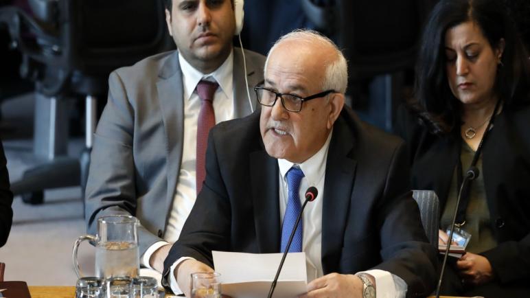 يريد الفلسطينيون من الإتحاد الأوروبي التحرك بمواجهة صفقة القرن التي ستطرحها الولايات المتحدة