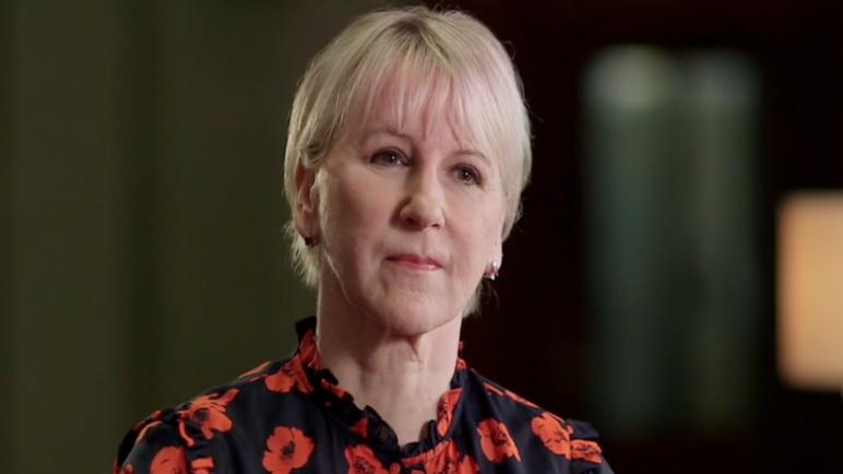 وزيرة خارجية السويد: أنا فخورة بالإعتراف بدولة فلسطين وسنبقى ندعمها