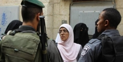 الاحتلال يعتقل 4 فلسطينيات أثناء خروجهن من المسجد الأقصى