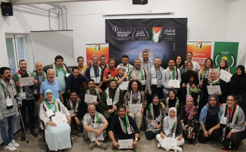 اختتام فعاليات ملتقى سفراء فلسطين الأول في إسبانيا