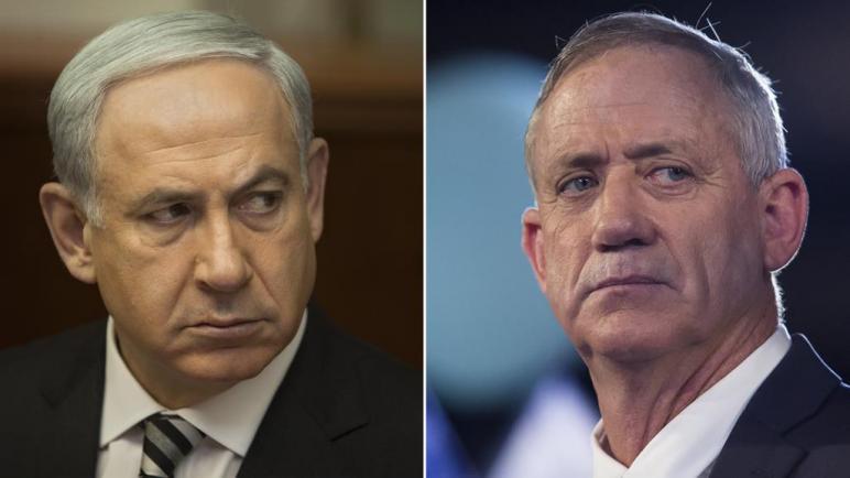 فشل نتنياهو وغانتس بتشكيل حكومة تحالف ورئيس الكيان الإسرائيلي يكلف الكنيست بتشكيل الحكومة