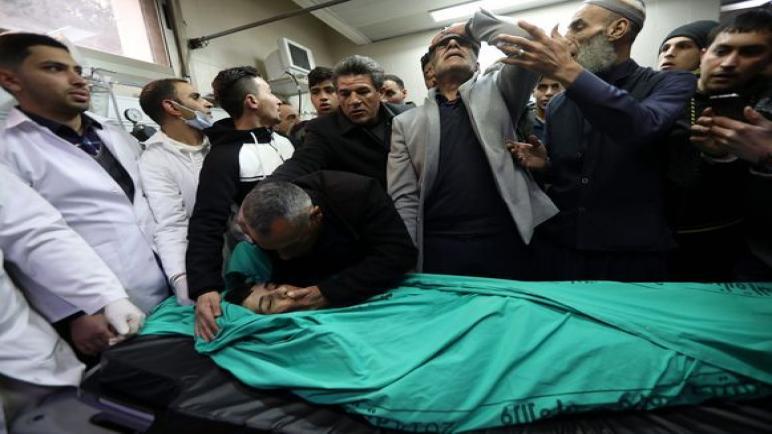 أول شهيد فلسطيني في المظاهرات الإحتجاجية ضد خطة ترامب للسلام