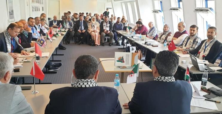 الهيئة الدولية للدفاع عن النقابيين والمهنيين الفلسطينيين تؤكد على ضرورة دعم وضمان حقوق النقابي الفلسطيني