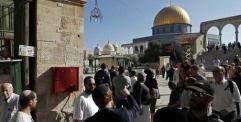 الكيان الإسرائيلي يقرر إبعاد رئيس مجلس الأوقاف الإسلامية في القدس عن المسجد الأقصى