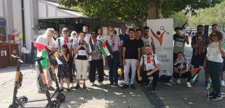 جمعية الشباب الفلسطيني في مالمو تقيم ماراثونا رياضيا تضامنا مع فلسطين