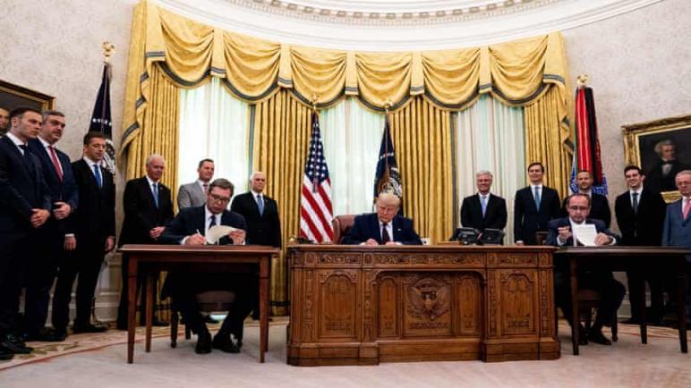 بوساطة أمريكية: كوسوفو تعترف بالكيان الإسرائيلي وصربيا ستنقل سفارتها إلى القدس