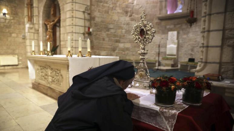 لن يسمح الكيان الإسرائيلي للمسيحيين في قطاع غزة بزيارة الأماكن المسيحية المقدسة خلال عيد الميلاد
