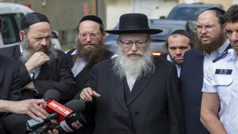 تأكيد إصابة وزير الصحة الإسرائيلي و زوجته بفيروس كورونا الجديد وبقاء نتنياهو في العزل الصحي