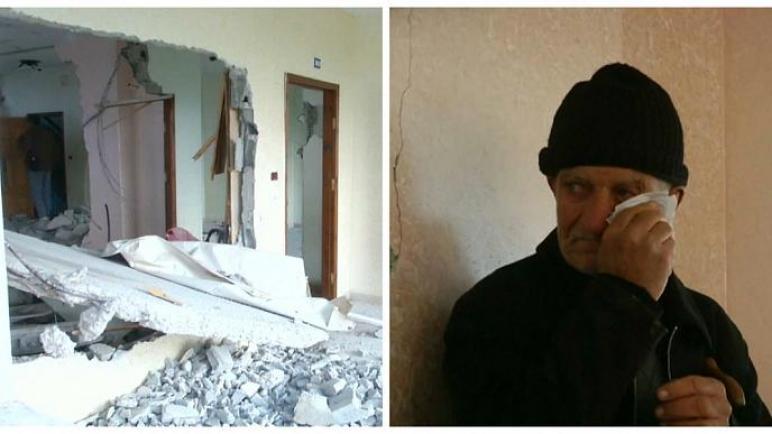 قوات الكيان الإسرائيلي تهدم منزلان في الضفة الغربية لفلسطيني بزعم أنه مشتبه به بقتل امرأة اسرائيلية