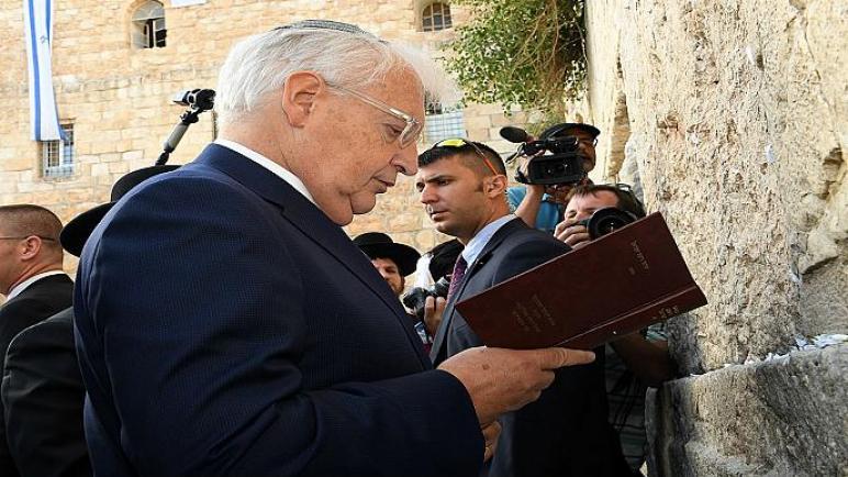 السفير الأمريكي لدى الكيان الإسرائيلي: يحق للكيان ضم جزء من الضفة الغربية ولا نريد دولة فلسطينية فاشلة