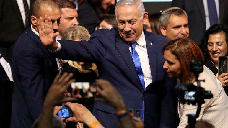 """بعد فرز 96% من الأصوات في انتخابات """"الكيان الإسرائيلي"""" – نتنياهو سيحكم من جديد"""