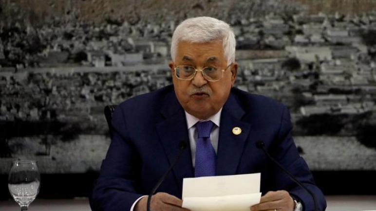"""الرئيس الفلسطيني يعلن وقف العمل بالاتفاقات مع """"الكيان الإسرائيلي"""""""