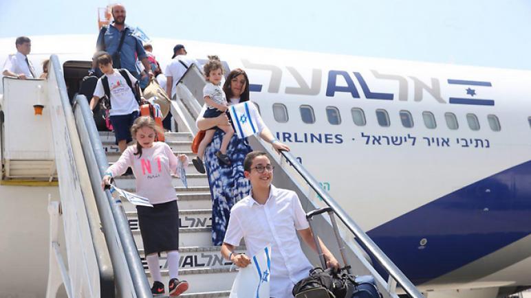 """ارتفاع نسبة الهجرة اليهودية إلى """"الكيان الإسرائيلي"""" في العام 2018"""
