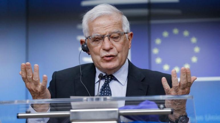 أمام الصراع بين الكيان الإسرائيلي وفلسطين يبدو أن الاتحاد الأوروبي أكثر عجزاً بكثير مما كان يُخشى