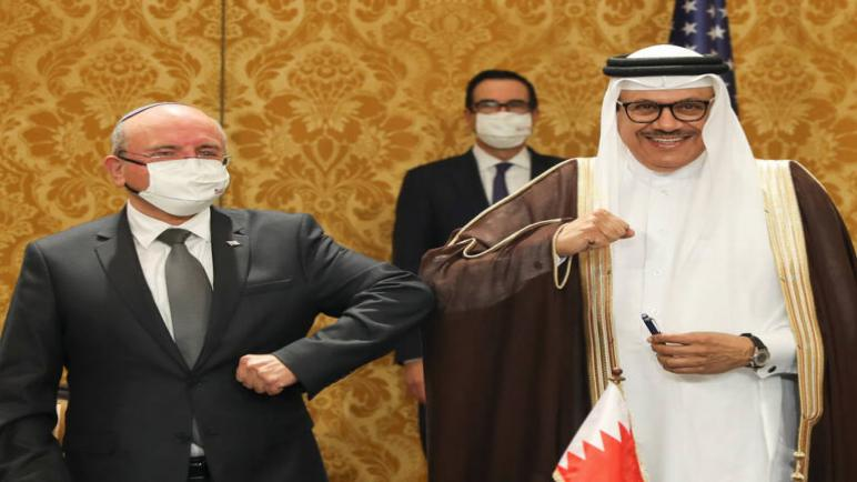 البحرين توقع اتفاقية دبلوماسية مع الكيان الإسرائيلي في المنامة