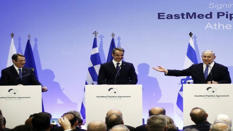 الكيان الإسرائيلي يوقع اتفاق لمد أنابيب غاز عبر البحر الأبيض المتوسط إلى الإتحاد الأوروبي