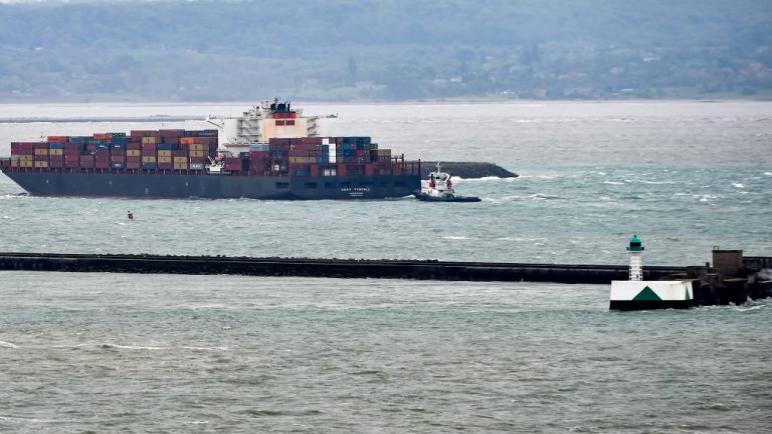 مهاجمة سفينة شحن إسرائيلية كانت في طريقها من السعودية إلى الإمارات