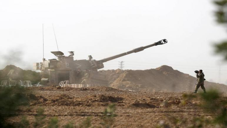 اصابة فلسطينيان بجروح في قصف إسرائيلي جديد على مواقع حركة الجهاد الإسلامي في غزة