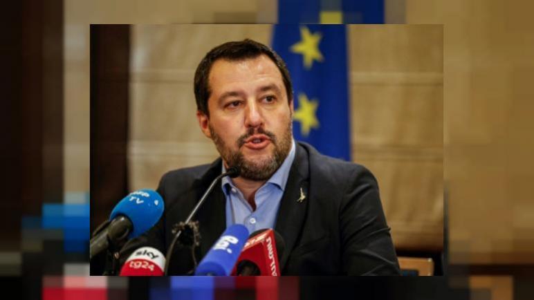 وزير الداخلية الإيطالي ماتيو سالفيني يتهم الإتحاد الأوروبي بالتحيز ضد إسرائيل