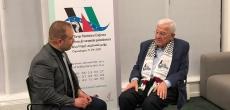 مقابلة الدكتور أنيس قاسم رئيس دورة الإنعقاد الأولى للمؤتمر الشعبي لفلسطينيي الخارج مع Epal