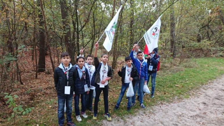 مخيم الكشاف الفلسطيني الأول في هولندا