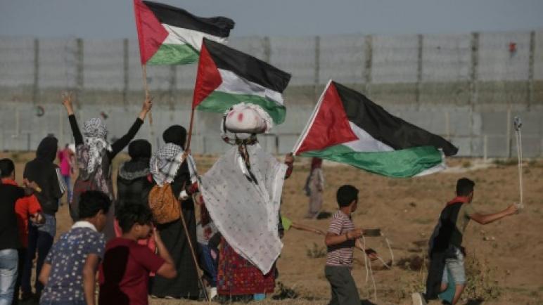 استشهاد ثلاثة فلسطينيين بنيران الكيان الإسرائيلي في مسيرات العودة الكبرى في قطاع غزة