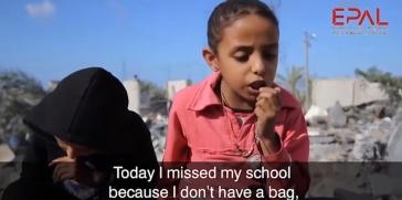 شاهد: بتول أبو عمرة 9 سنوات من قطاع غزة .. عندما يدمر الاحتلال أحلام الطفولة