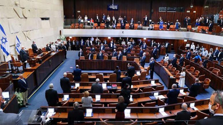حكومة الكيان الإسرائيلي الجديدة تواجه أول انتكاسة خلال التصويت على قانون يخص لم شمل العائلات الفلسطينية
