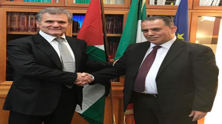 وفد طبي فلسطيني يزور روما للتعاون المشترك في قطاع نقل الدم