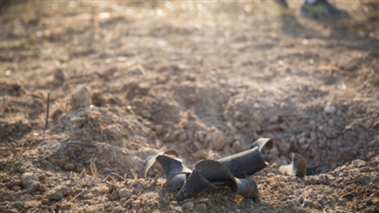 صاروخ ينفجر بمنطقة مفتوحة في أشكول واسرائيل ترد بغارات جوية على ثلاثة تجمعات لحماس في قطاع غزة
