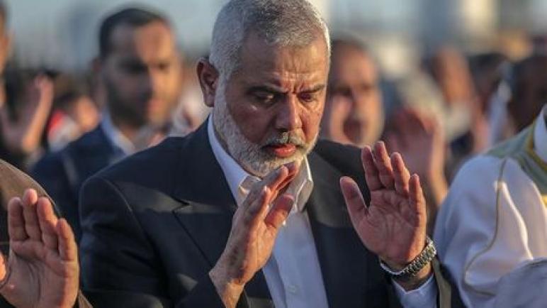 اسماعيل هنية بعد ايقاف اسرائيل شاحنات الوقود : الإحتجاجات لن تتوقف نحن لا نطلب الوقود والمال بل حق شعبنا