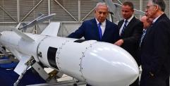 """نتنياهو: إسرائيل طورت """"صواريخ هجومية"""" يمكنها الوصول إلى """"أي مكان"""" في الشرق الأوسط"""
