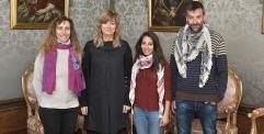 مدينة نافارا الإسبانية تستقبل الناشطة داليا نصار من الإتحاد النسائي الفلسطيني