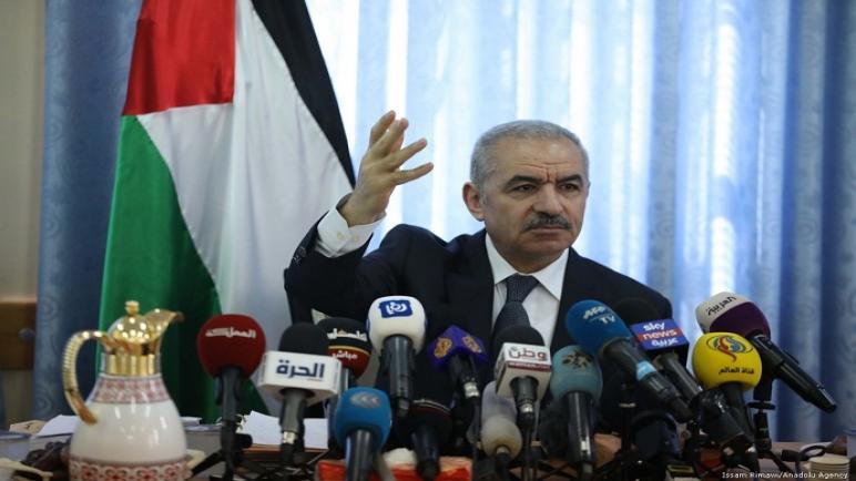 رئيس وزراء فلسطين يدعو الإتحاد الأوروبي وروسيا إلى إلغاء جنسية المستوطنين