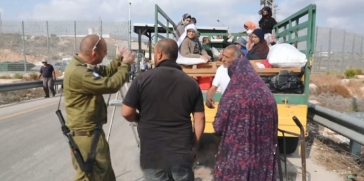 الكيان الإسرائيلي يعمل على سرقة أراضي المزارعين الفلسطينيين بشكل ممنهج