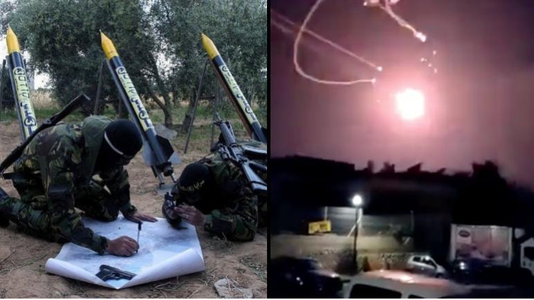 اطلاق 30 صاروخ ضد اسرائيل خلال الليل – حماس والجهاد وراء الهجوم