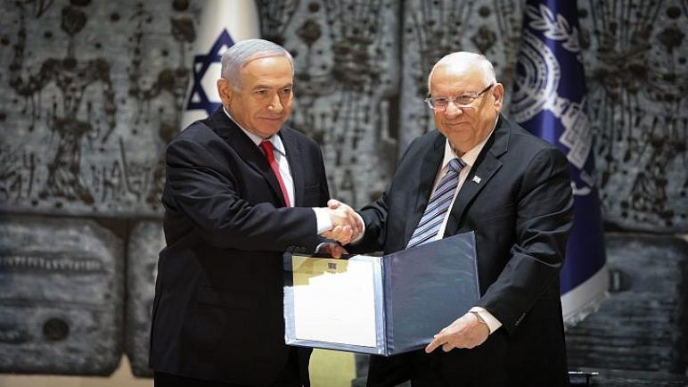 رئيس الكيان الإسرائيلي ريفلين يكلف رئيس الوزراء المنتهية ولايته بنيامين نتنياهو بتشكيل الحكومة الجديدة