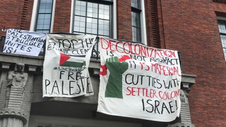 ما يحدث في فلسطين يسبب اضطرابات واحتجاجات لدى طلاب التعليم العالي في هولندا