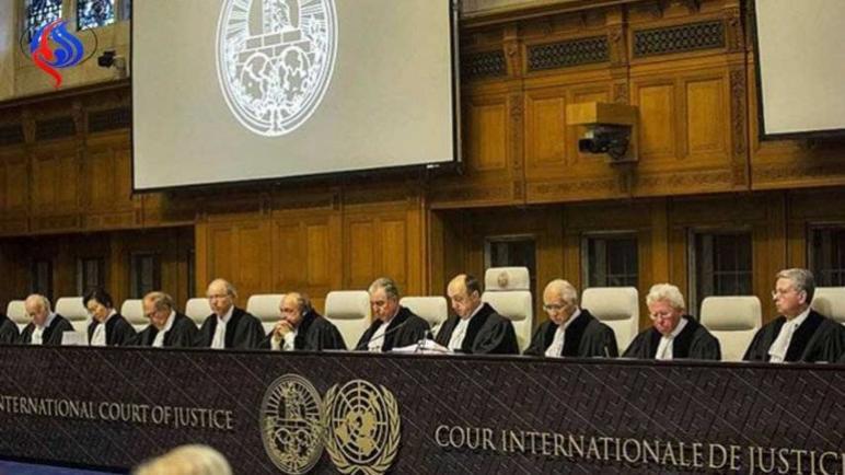فلسطين تقاضي الولايات المتحدة الأمريكية أمام محكمة العدل الدولية في لاهاي