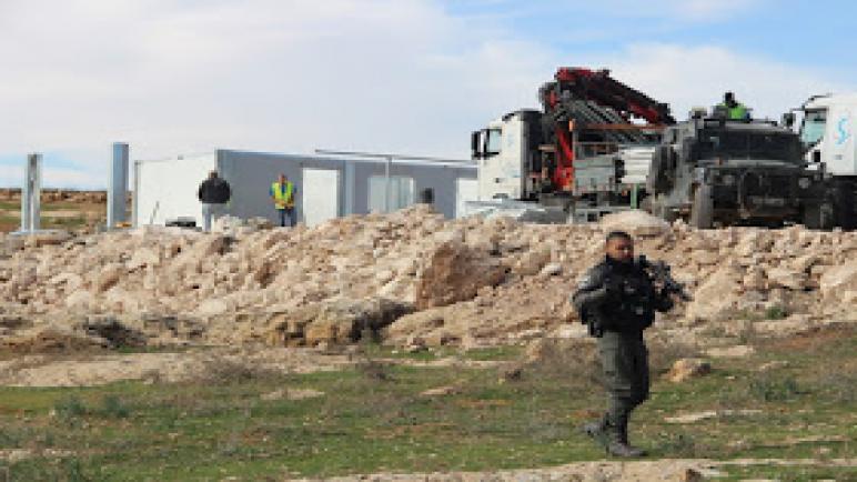 اسرائيل تهدم مدرسة ابتدائية في الضفة الغربية
