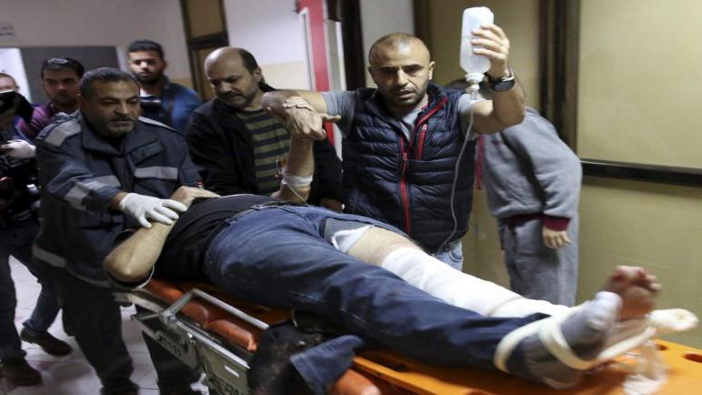 الجيش الاسرائيلي يطلق النار على مصور وكالة أسوشيتد برس رغم ارتداءه سترة الصحافة