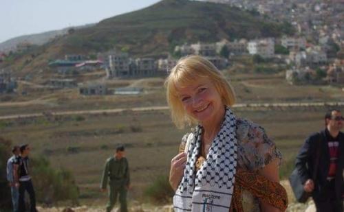 """رحيل المتضامنة """"يولانتا شيبنسكا"""" مؤسسة المجموعة البرلمانية البولندية الفلسطينية"""