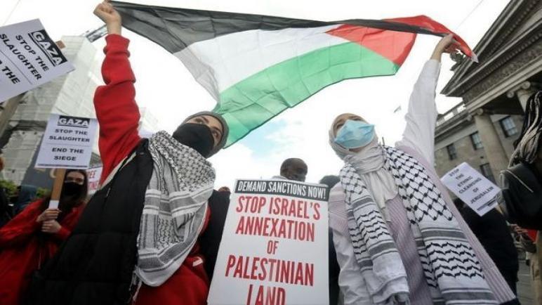 أيرلندا تصبح أول دولة في الإتحاد الأوروبي تدين الكيان الإسرائيلي لجريمة الضم الغير قانوني للأراضي الفلسطينية المحتلة