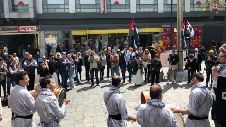 """حملة """"انتماء"""" والمؤتمر الشعبي يستعدان لإطلاق الحملة الدولية للحفاظ على الهوية الفلسطينية 2020"""
