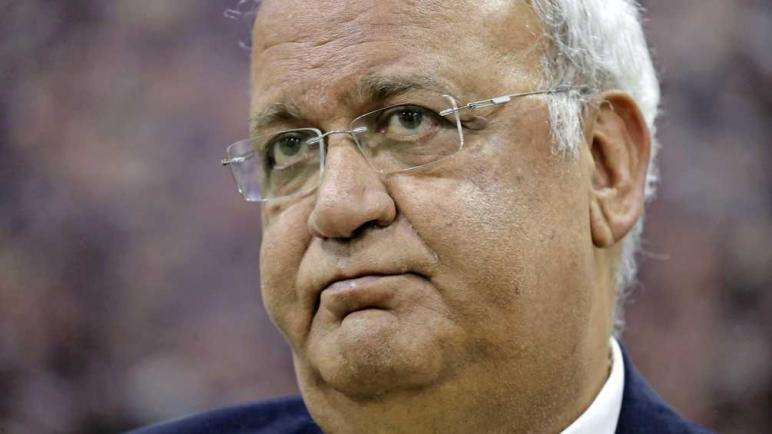 وفاة السياسي الفلسطيني البارز صائب عريقات نتيجة إصابته بفيروس كورونا