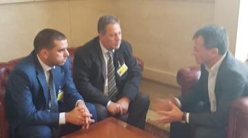 """""""التجمع الفلسطيني"""" يبحث مع ممثلي أحزاب إيطالية تطورات غزة والقدس"""