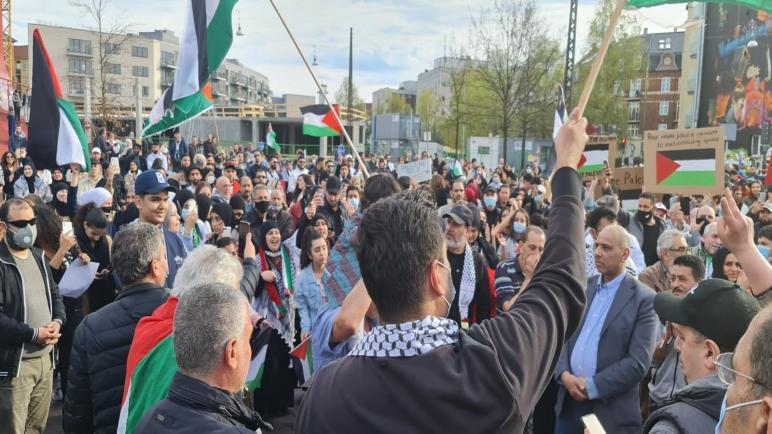 فلسطينيو أوروبا ينتفضون دعماً لسكان القدس وتنديداً بالاعتداءات الإسرائيلية على المسجد الأقصى