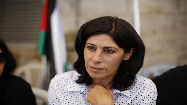 إسرائيل تجدد للمرة الرابعة الإعتقال الإداري للنائب في المجلس التشريعي الفلسطيني خالدة جرار